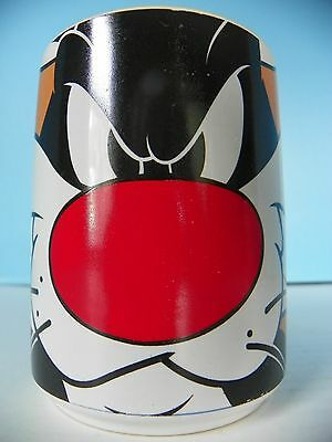 Looney Tunes coffee mug Large Sylvester face
