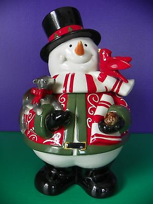 Harry and David 2007 Snowman Cookie Jar