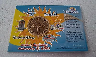 *~* Disney Dlr Cm 2001 Grand Opening Coin *~*