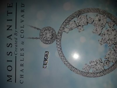moissanite created by charles and colvard 4 pcs