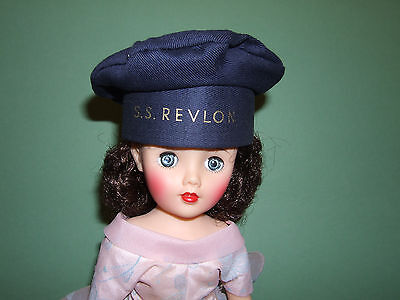 RARE S.S. Revlon Navy HAT Minty and Never Played With!  HAT ONLY!