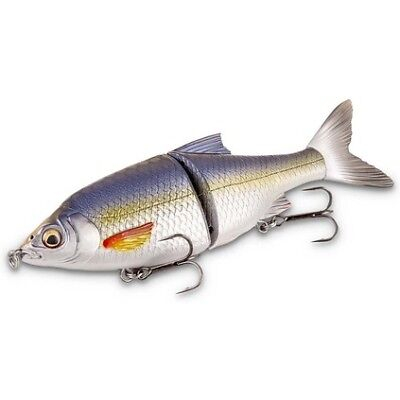 Savage 3D Roach Shine Glider Swimbait Lure - 18cm, Dirty Silver Mullet, 65g