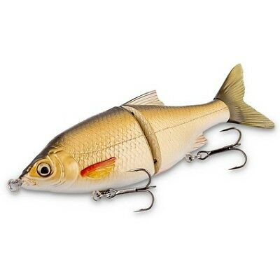 Savage 3D Roach Shine Glider Swimbait Lure - 18cm, Black Gold Mullet, 65g