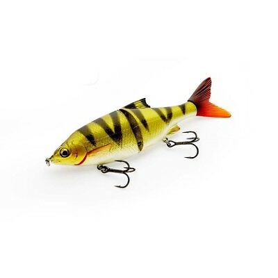 Savage 3D Roach Shine Glider Swimbait Lure - 13.5cm, Perch, 28g