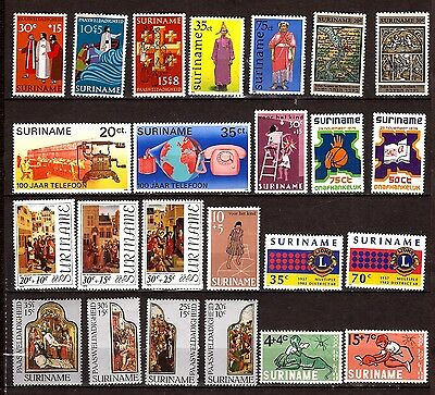 EP236 SURINAME timbres neufs usages courants,sujets divers