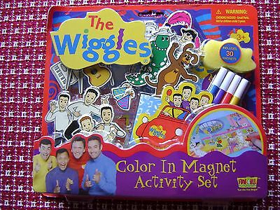 The Wiggles Color in Magnet Activity Set w/30 magnets | 2003 Fun-4-All Corp | 3+