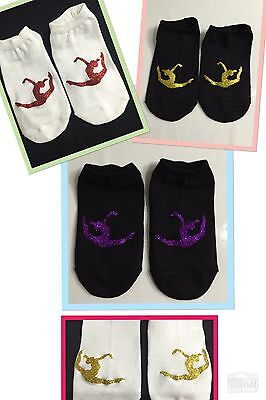 Gymnastics Trainer Liner Training Socks Novelty Squad Gift (RL)