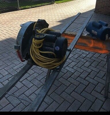 3HP Blue Ripper Sr™ Rail Saw for Granite, Marble Plus Rail And Spare Motor