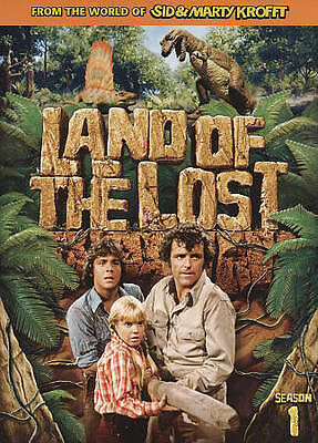 Land of the Lost: Season 1 (DVD, 2009, 3-Disc Set) RARE 1974 BRAND NEW