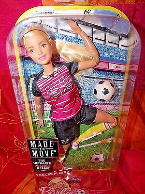 Made To Move Soccer Player Articulate Body Style New Release Adorable Mint