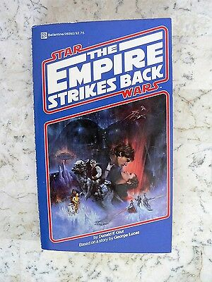 Vintage STAR WARS The Empire Stikes Back Book 1980 1st Ed. Del Rey Paperback