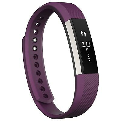 Fitbit Alta Fitness Tracker - Large - Plum, English + French