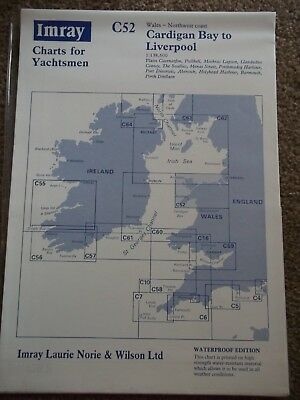 Admiralty Chart - Imray Chart C52 Cardigan Bay to Liverpool 1996 edition