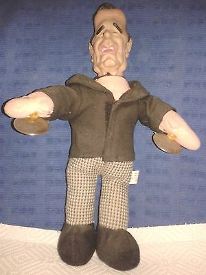 President George H W Bush Doll With Window Suction Cups - Frankenstein Zombie?