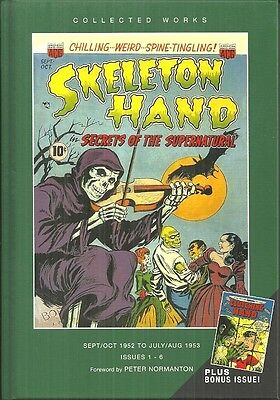 SKELETON HAND - VOL 1 - ISSUES #1-#6 - PRECODE HORROR COMICS OF THE 1950s