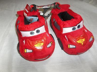 Disney Cars House Shoes Slippers Toddler Size Medium (7/8) New With Tags