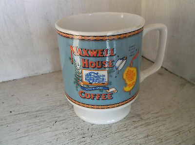 MAXWELL HOUSE COFFEE Footed Mug Cup Japan