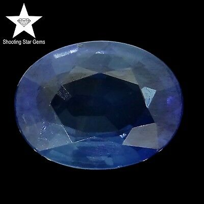 oval cut blue sapphire 1.63ct Natural Loose Gemstones