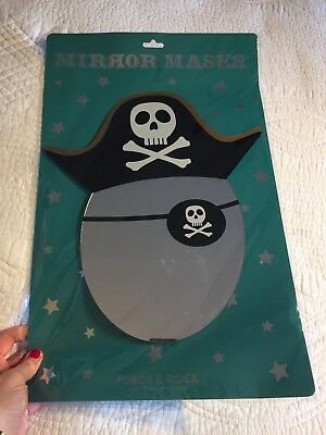 Pirate Mirror Eye Patch Mask Acrylic, Bedroom Mirror, New