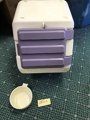 DOG DRY FOOD CONTAINER Stackable Storage Bin  With Scoop
