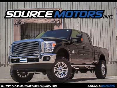 "2013 Ford F-250 Super Duty XLT 2013 Ford F250 Super Duty Crew Cab 6.7 Turbo Diesel Billet Grill, Custom 6"" LIft"