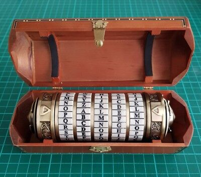 The Da Vinci Code Cryptex 1:1 Noble Collection Prop *Final Reduction*
