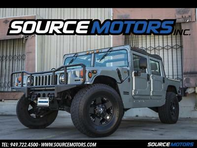 1999 Hummer H1 Open Top 1999 Hummer H1 Open Top, Silver, Custom Wheels, Leather, MOMO