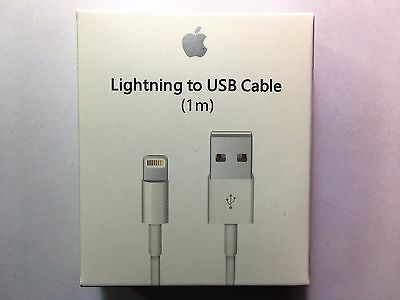 1M  Genuine Original Apple Lightning to USB Charge Cable for iPhone6  6s Plus 7