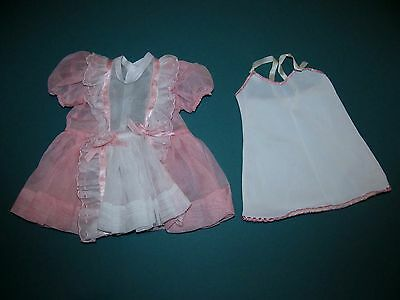 "SALE!  PRISTINE MINT TERRI LEE Tagged Pink Party Dress Outfit for 16"" Doll!"