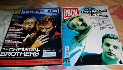 2x1 revistas magazine mag the chemical brothers daft punk public enemy rare new