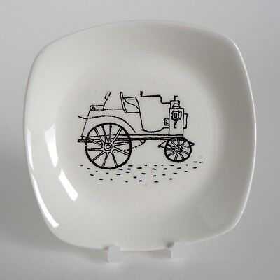 Midwinter Terence Conran 1894 Panhard Pin Tray Pickle Dish Butter Pat Pad 1950's