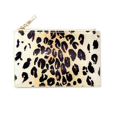 "KATE SPADE - Pencil Pouch -  Set - ""Leopard"" - Six Pieces Included!"