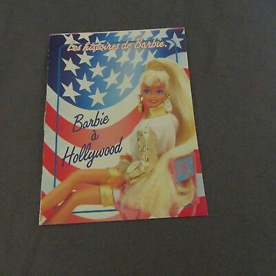 837E Catalogue 12 Pages Barbie in Hollywood Mattel