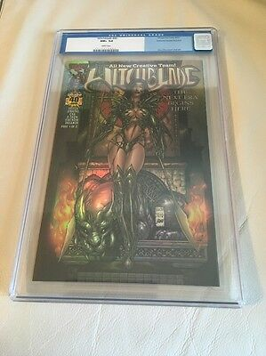 Witchblade # 40 DF Dynamic Forces Holofoil CGC 9.6