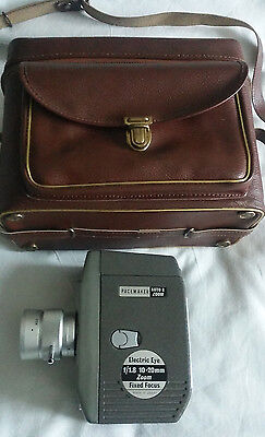 Pacemaker Auto 8 Zoom Electric Eye F/1.8 10-20mm Vintage Japanese Camera in Case