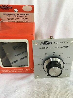 Speaker L-Pad High Power Audio Attenuator  - 100W , 8 Ohms Philmore LP-100