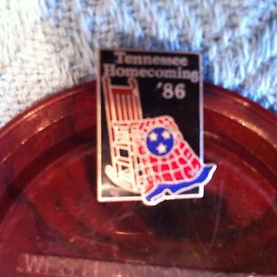 Nos Tennessee Homecoming '86 Lapel Pin