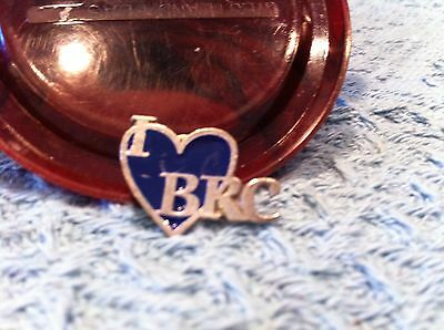 "Nos Billy Ray Cyrus ""i Love Brc"" Lapel Pin"