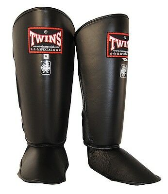 Twins Special Sgl-2 Shin Guards Size S In Blk.