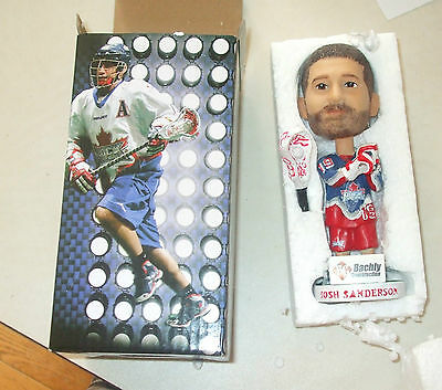 josh sanderson bobblehead, Bachly construction, we can build it, org box