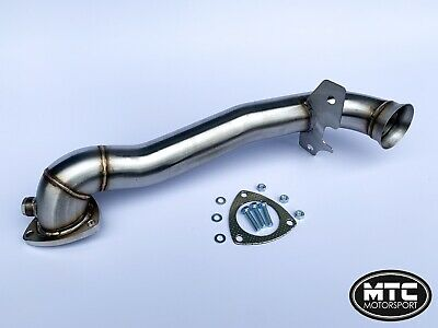 Mtc Motorsport Mini Cooper S R56 Stainless Decat Downpipe Exhaust Pipe 07-13