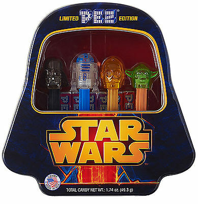 Limited Edition Star Wars Pez with Darth Vader Collector's Tin