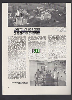(5316) The Bowls Vicarage Lane Chigwell Essex T A Clark - 1969 Article