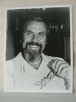 GEORGE SCHLATTER Producer Director  AUTOGRAPH SIGNED PHOTO