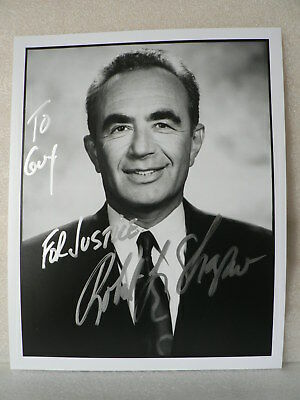 ROBERT L.SHAPITO Attorney Defended O.J. SIMPSON AUTOGRAPH SIGNED CARD