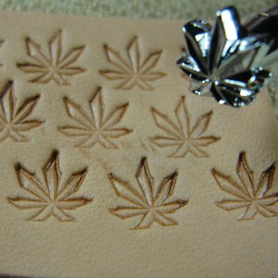 Steel Craft Japan - #O67 Marijuana Leaf Stamp (Leather Stamping Tool)