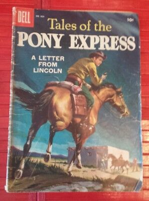 Vintage 1957  Tales of the Pony Express  # 829 comics  book.
