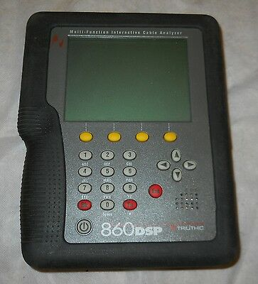 Trilithic 860Dsp Multi-Function Interactive Cable Analyzer, Works!