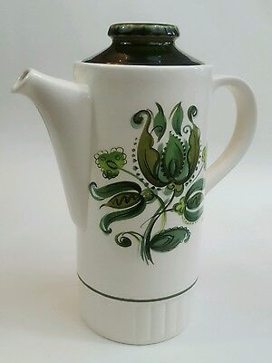 """Collectable retro """"Heidi"""" Palissy Royal Worcester Tall Coffee Pot Tableware"""