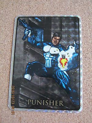 Marvel Masterpieces 1992 Prism Vending Sticker Punisher - RARE